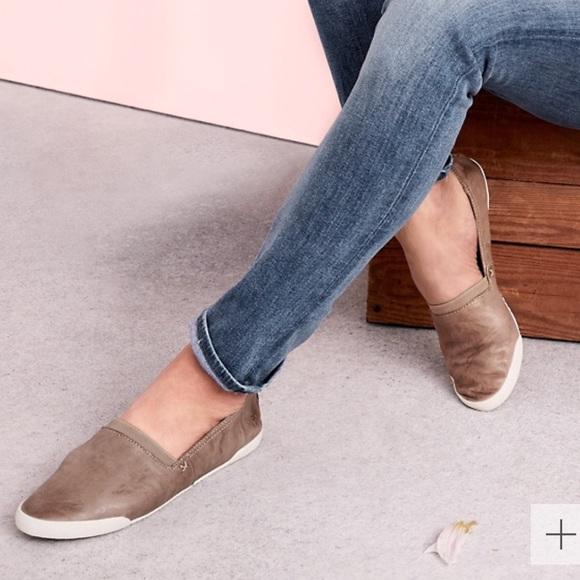 Frye Melanie Slip On Leather Shoes Size